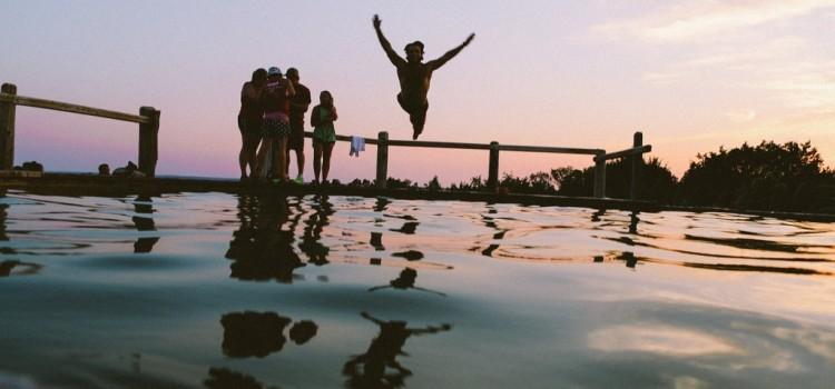Hai paura? È il momento giusto di saltare!